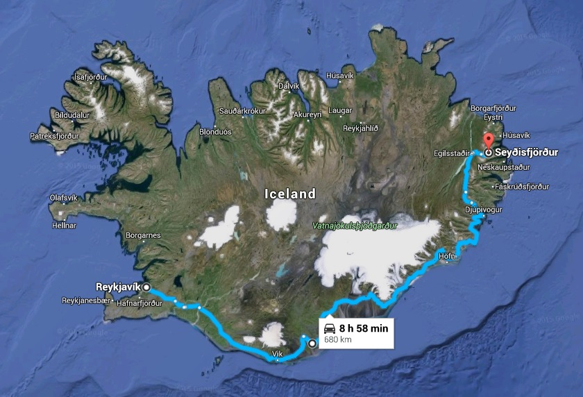 island taxi seydisfjordur