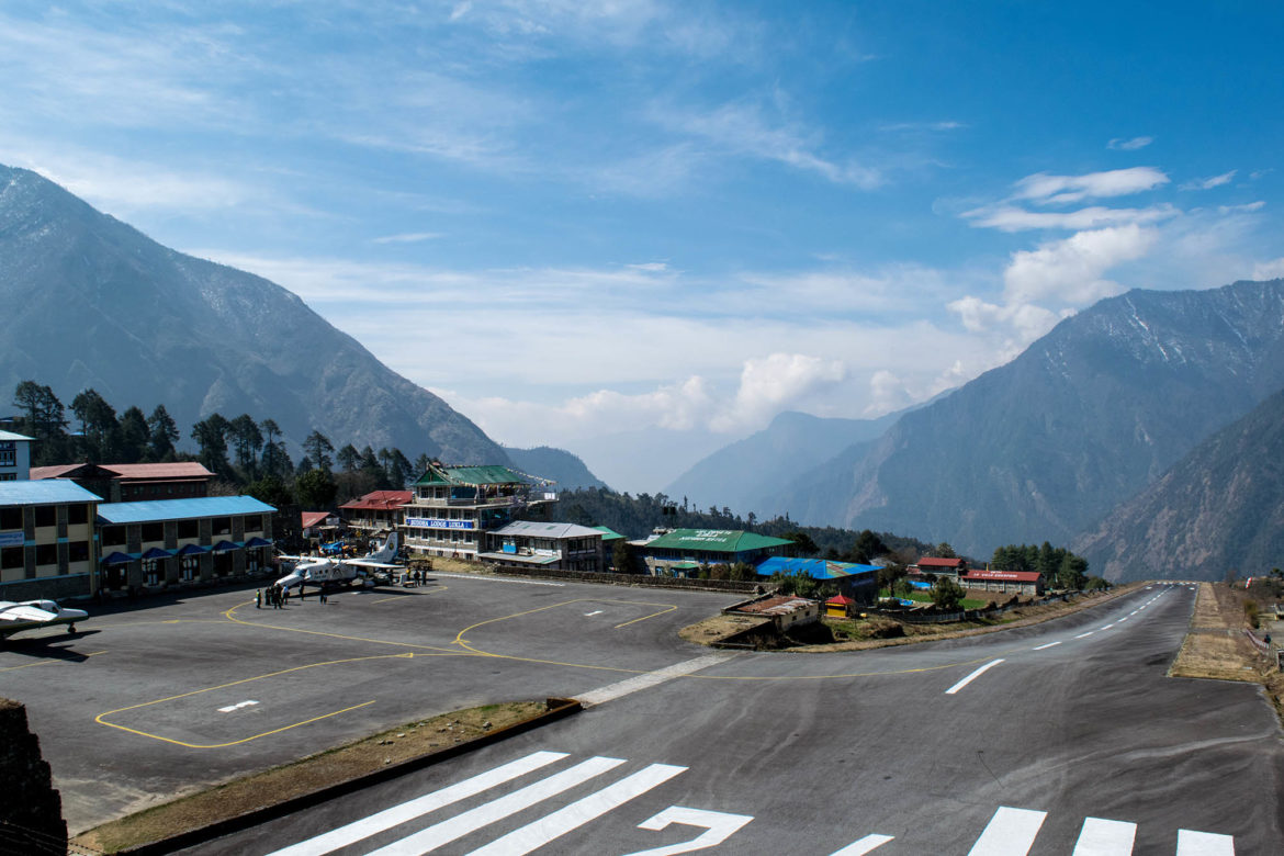 How to get to Lukla Airport, Nepal