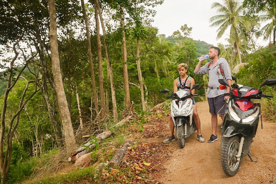 Renting a Moped/Scooter in Thailand