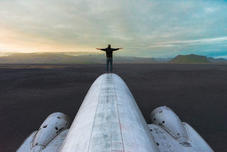 How to find the crashed plane wreck on Sólheimasandur beach in Iceland