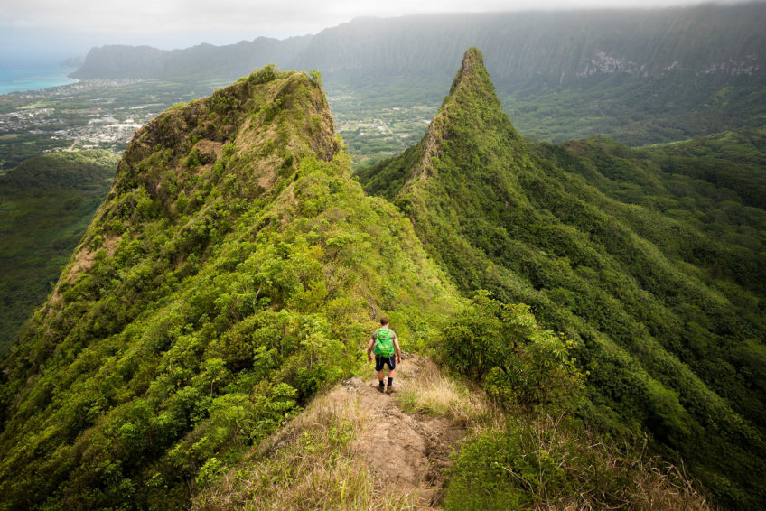 Olomana Three Peaks Hawaii Hike