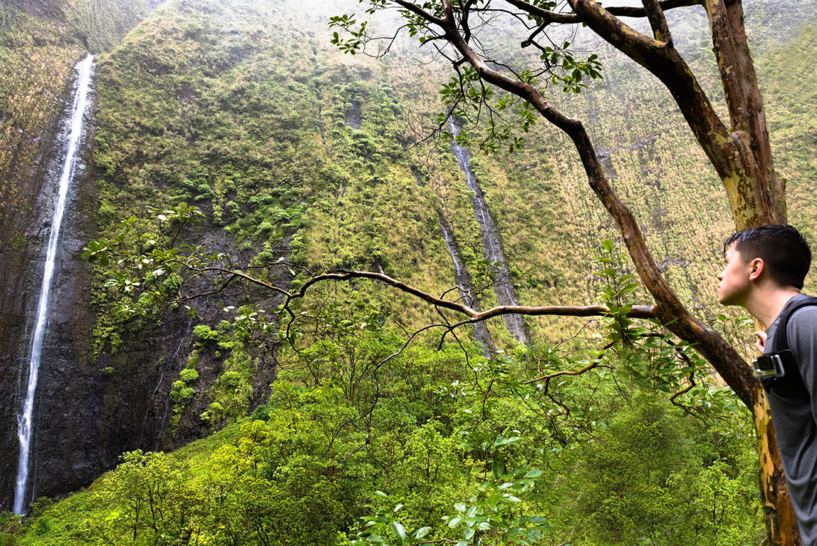 Waialeale Falls Blue Hole Hike | Kauai Hawaii